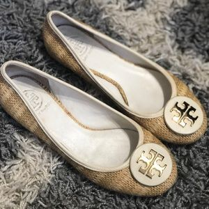 💯Authentic Tory Burch Summer Reva Flats